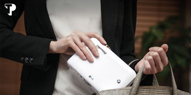 بهترین پروژکتور جیبی - ال جی مدل LG Minibeam PH550G