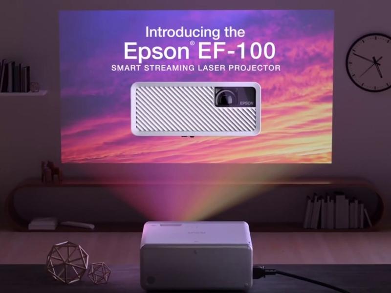 بهترین پروژکتورها برای بازی - پروژکتور اپسون EF-100