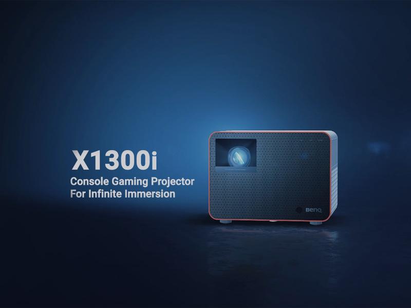 بهترین پروژکتورها برای بازی -پروژکتور BenQ X1300i
