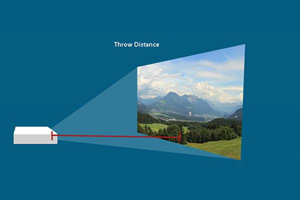 فاصلهی پرتاب Throw Distance