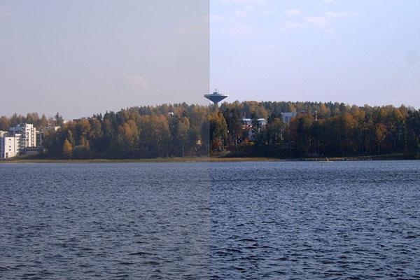 نسبت کنتراست و تاثیر آن در نمایش تصاویر از تفاوت ویدئو پروژکتور 3LCD و DLP