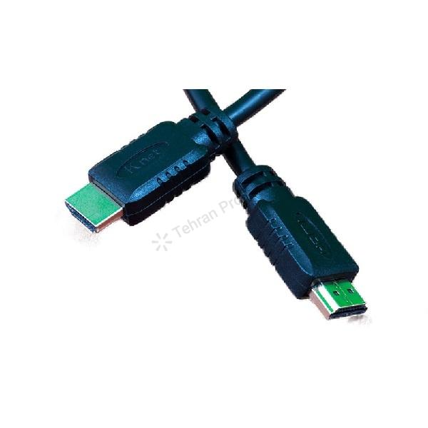کابل 3 متری اچ دی ام آی مدل 1.4 کی نت – K-net HDMI v.1.4 3m