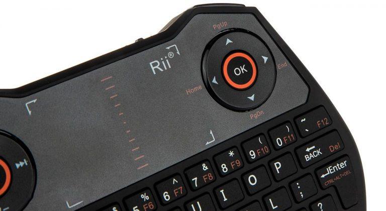 پرزنتر بیسیم تاچپد ری Rii mini i28C TouchPad