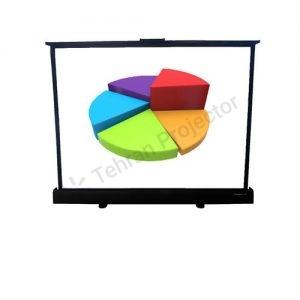 پرده نمایش ویدئو پروژکتور دستی گرندویو 50 اینچ