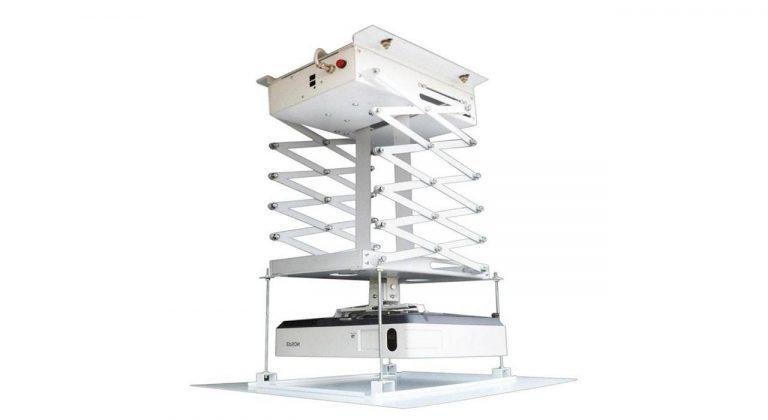 پایه پروژکتور برقی مدل 1.5 متری آکاردئونی