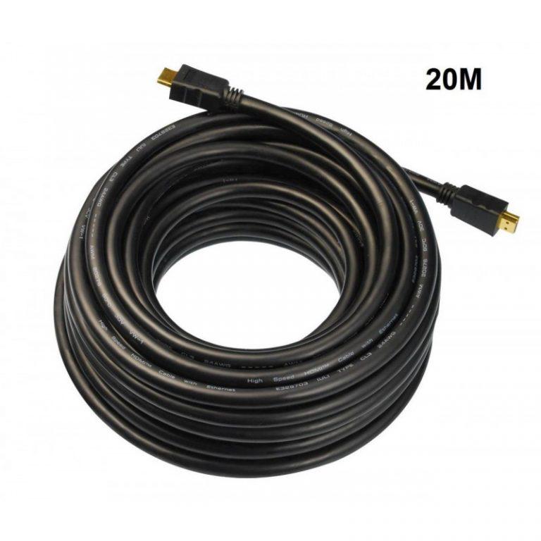 کابل 20 متری اچ دی ام آی مدل 3D 1.4 کی نت – k-net HDMI v.1.4 3D 20m