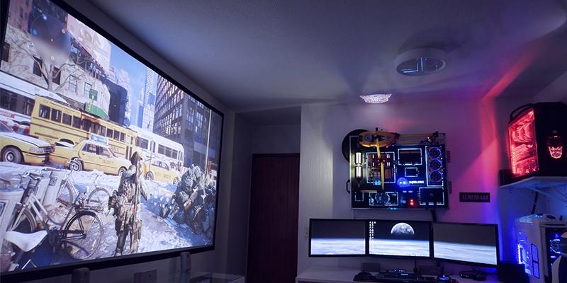 پخش تصاویر Full HD از ویدئو پروژکتور BenQ مدل MS527E