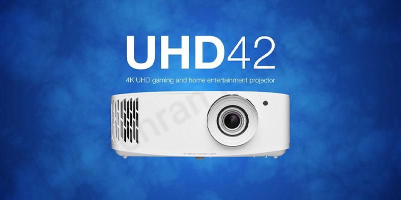 بررسی ویدئو پروژکتور اپتما Optoma UHD42