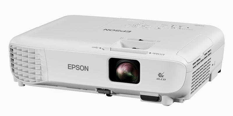 طول عمر لامپ در ویدئو پروژکتور Epson EB-W06