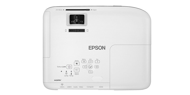 ماندگاری لامپ در Epson EB-W51