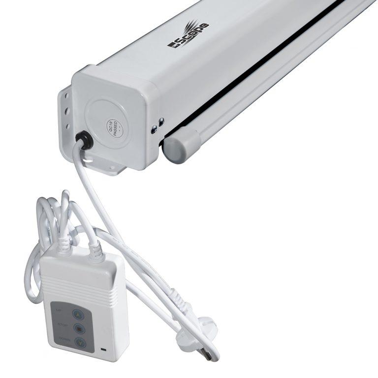 پرده نمایش پروژکتور سقفی-برقی اسکوپ مدل Scope 150*150