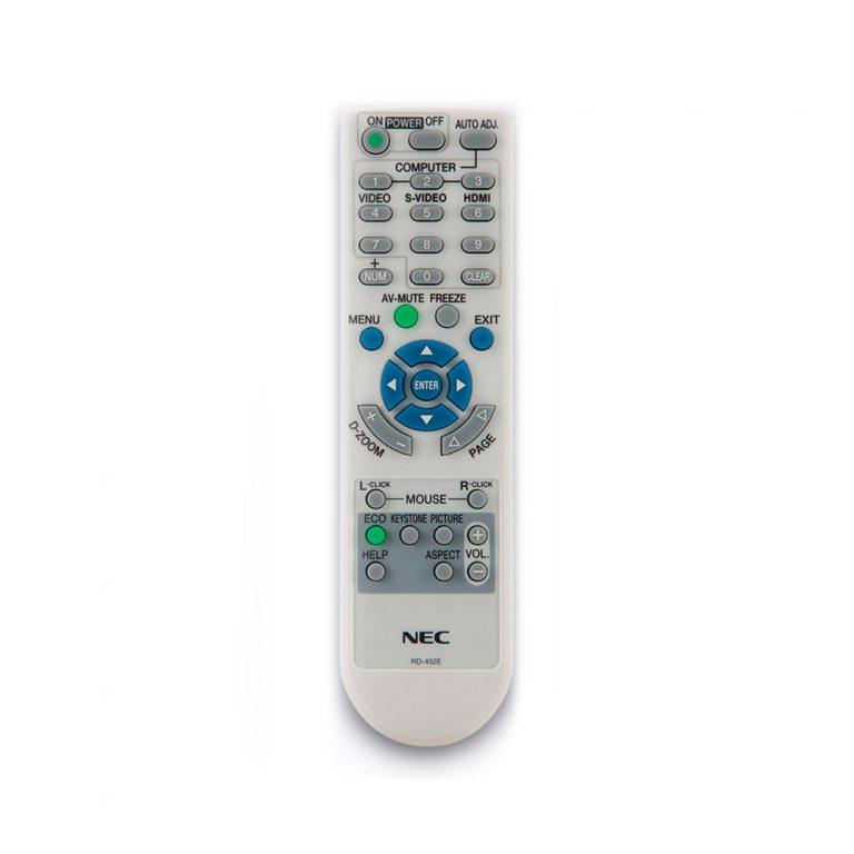 ریموت کنترل پروژکتور ان ای سی کد 1 – NEC projector remote control