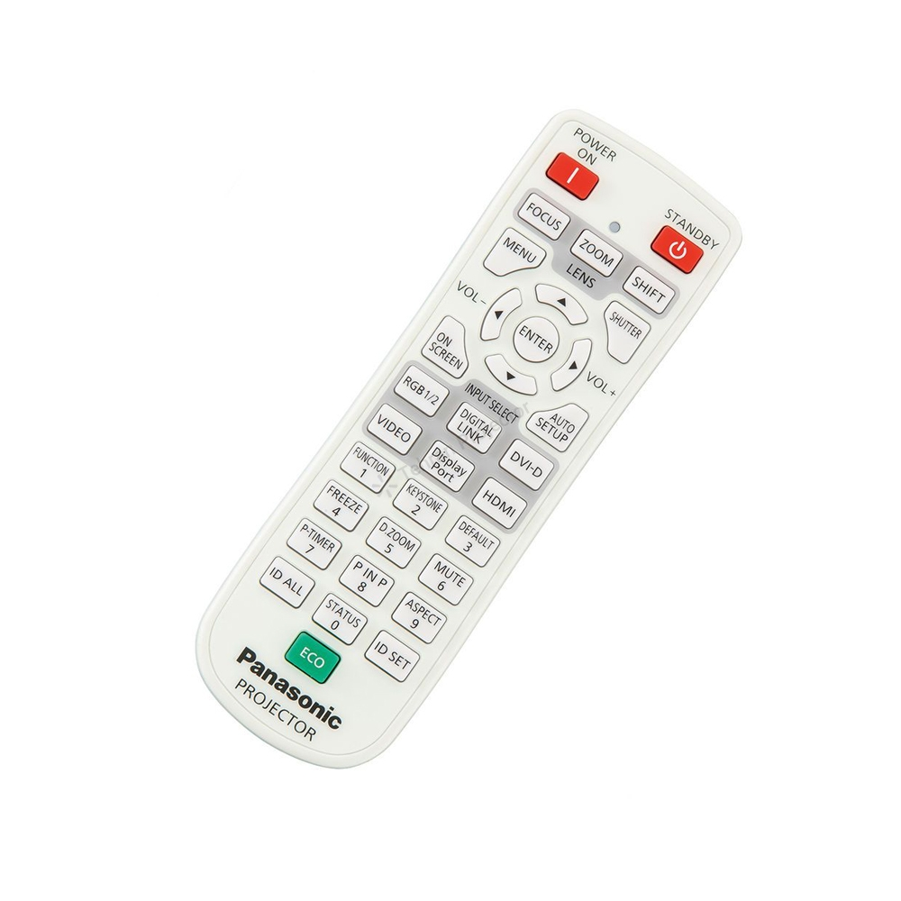 ریموت کنترل ویدئو پروژکتور پاناسونیک کد 4 – Panasonic projector remote control