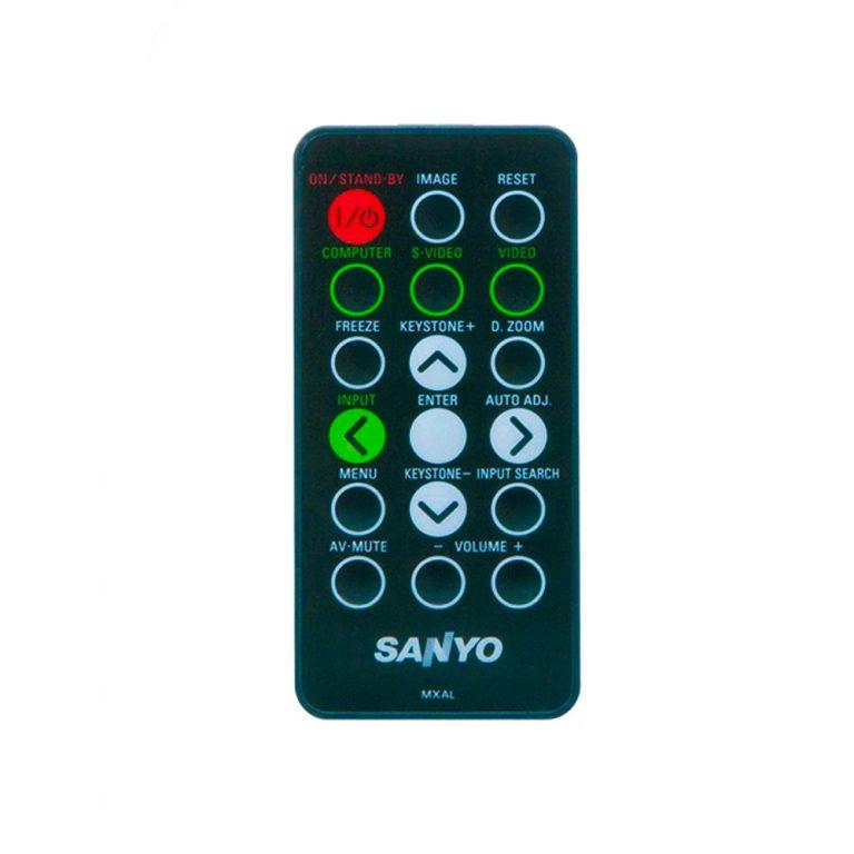 ریموت کنترل ویدئو پروژکتور سانیو کد 1 – Sanyo projector remote control