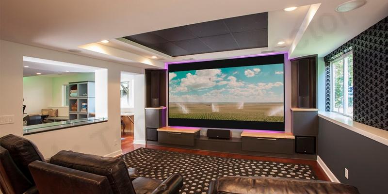 تجربهی صفحه نمایشی بزرگ با ویدئو پروژکتور اپسون EH-TW750