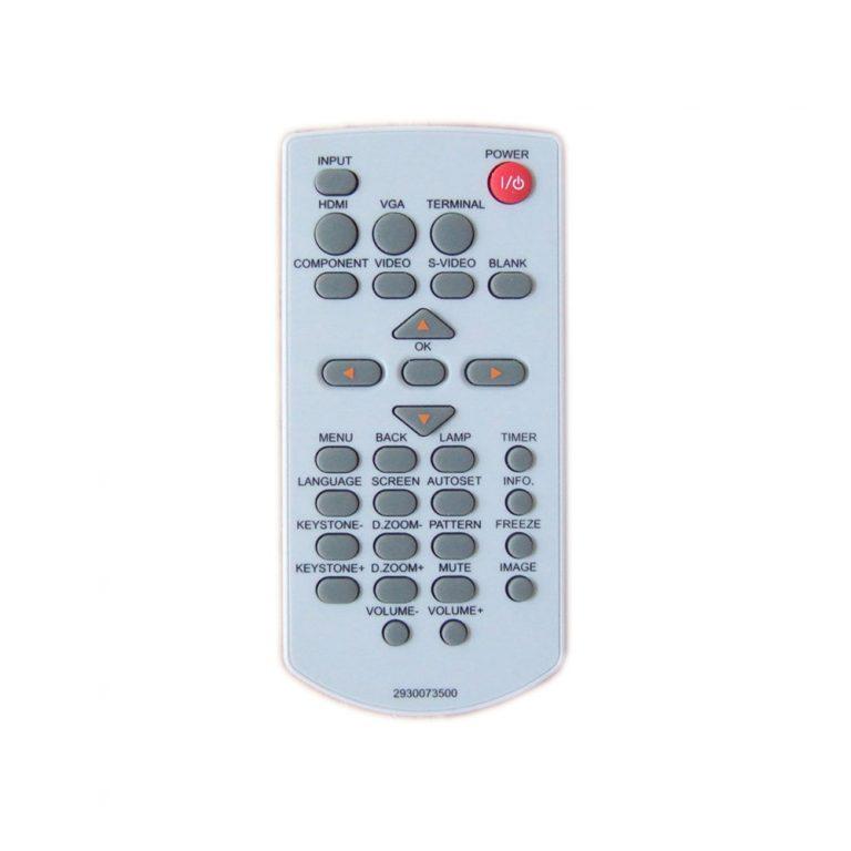 ریموت کنترل ویدئو پروژکتور اسک پراکسیما کد 1 – Ask Proxima remote control