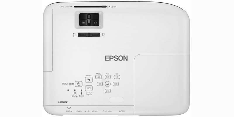 انعطافپذیری پروژکتور Epson EB-X51 در پخش