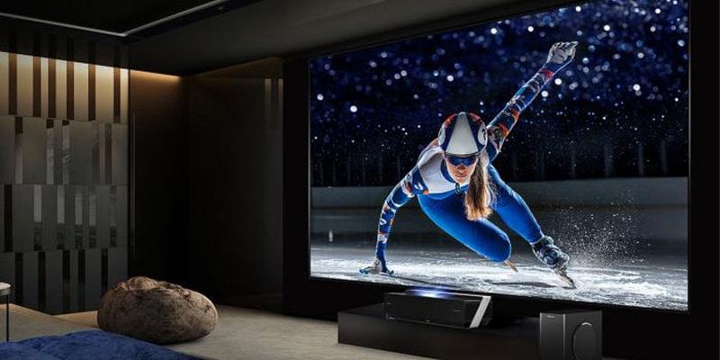 تلویزیون 4k در برابر پروژکتور 4k