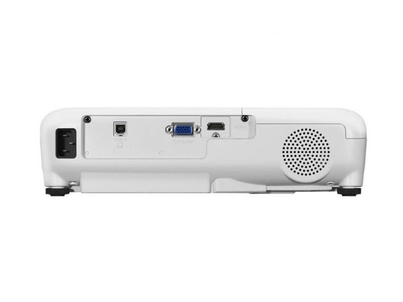 درگاههای اتصالات در ویدئو پروژکتور Epson EB-E01