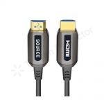 کابل اچ دی ام آی اپتیک فیبر AM To AM Optic Fiber HDMI 2.0 Cable 1-100Meters