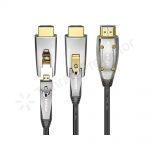 کابل اچ دی ام آی اکتیو فایبر اپتیکال HDMI 2.0 Active Fiber Optical (AOC) AM TO DM