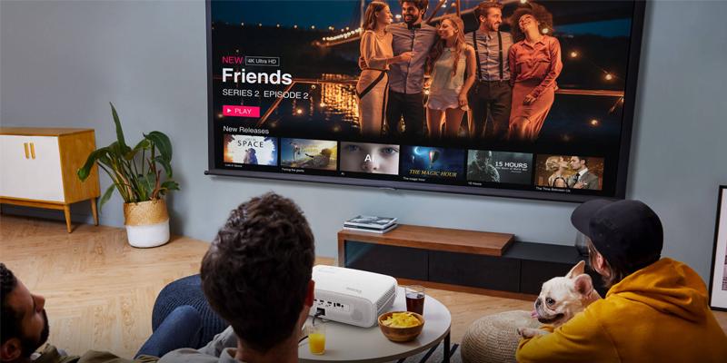 پروژکتور خانگی جایگزین تلویزیون