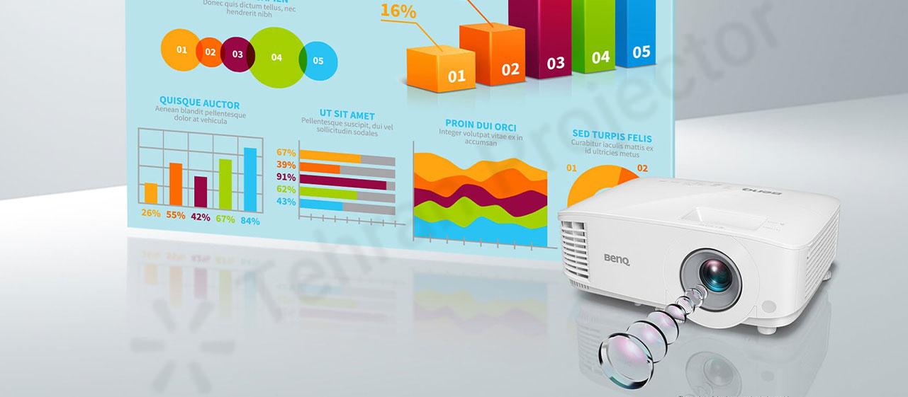 نمایش رنگهای واقعی و شفاف در ویدئو پروژکتور تجاری بنکیو MS560