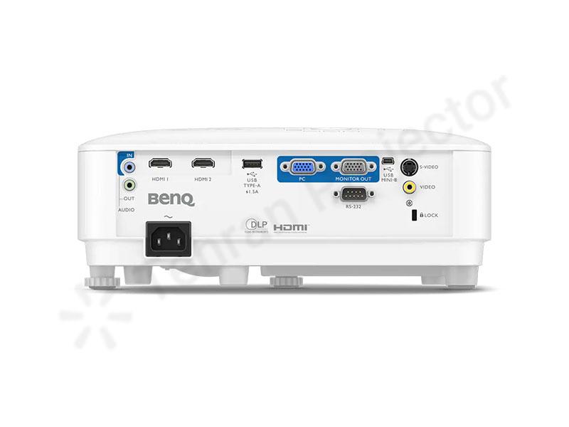 وضعیت درگاههای اتصالات در ویدئو پروژکتور بنکیو benq MX560