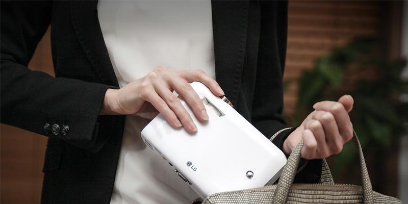 طراحی فوقالعاده پروژکتور LG PH550