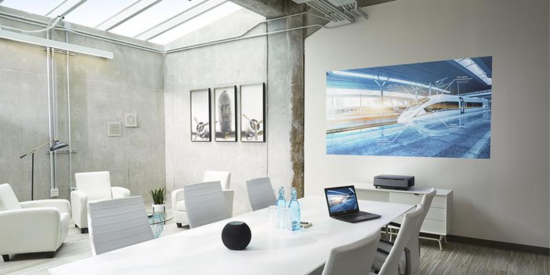 وضعیت اتصالات در Business Projector