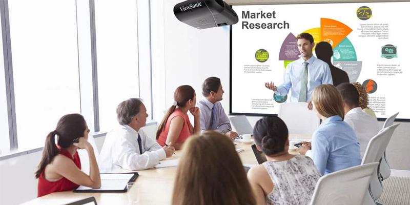 حداکثر رزولوشن Business Projector