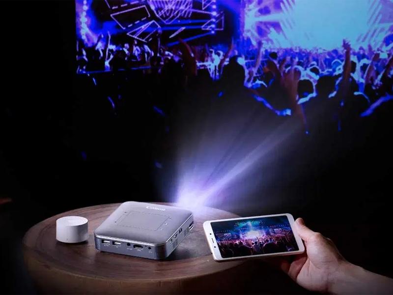 سطح روشنایی ویدئو پروژکتور جیبی بر حسب انسی لومن