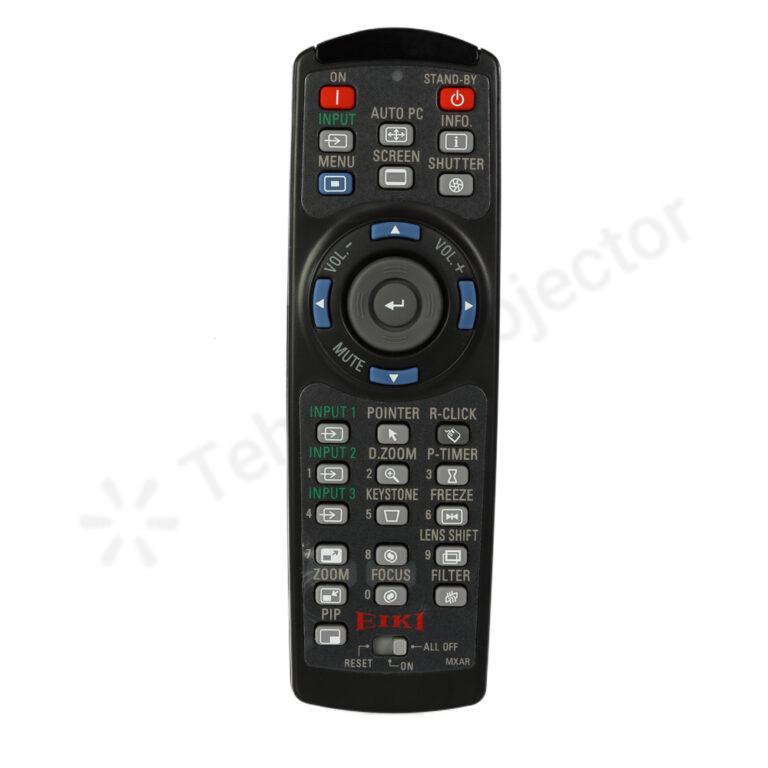 ریموت کنترل ویدئو پروژکتور ایکی کد ۱ – Eiki remote control