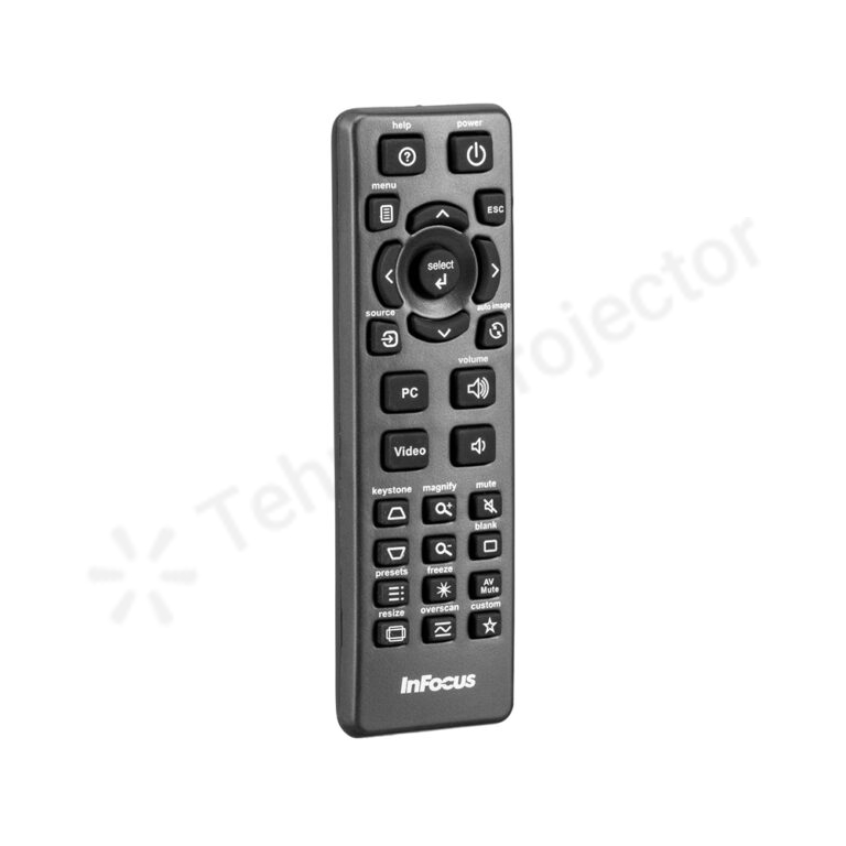 ریموت کنترل اینفوکوس کد 1 – InFocus remote control