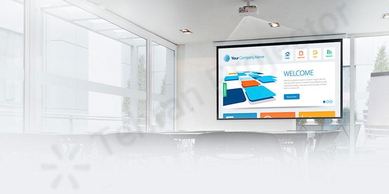قابلیت تقسیم صفحه Split Screen در Epson EB-2265U