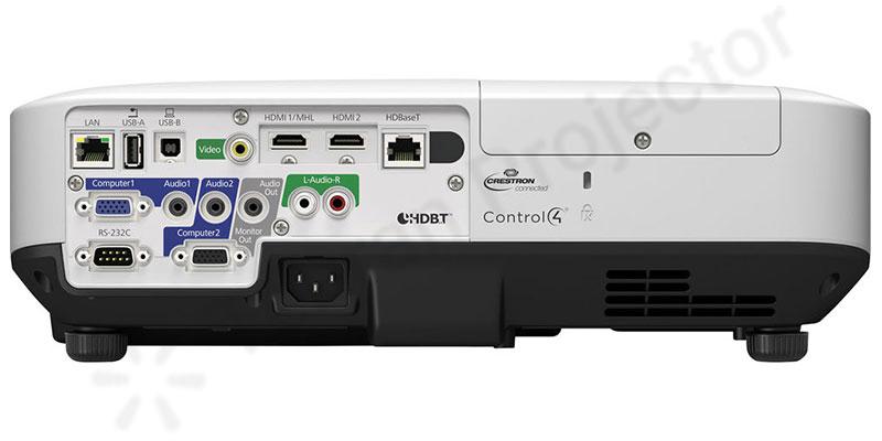 اتصال وایرلس در ویدئو پروژکتور Epson EB-2265u