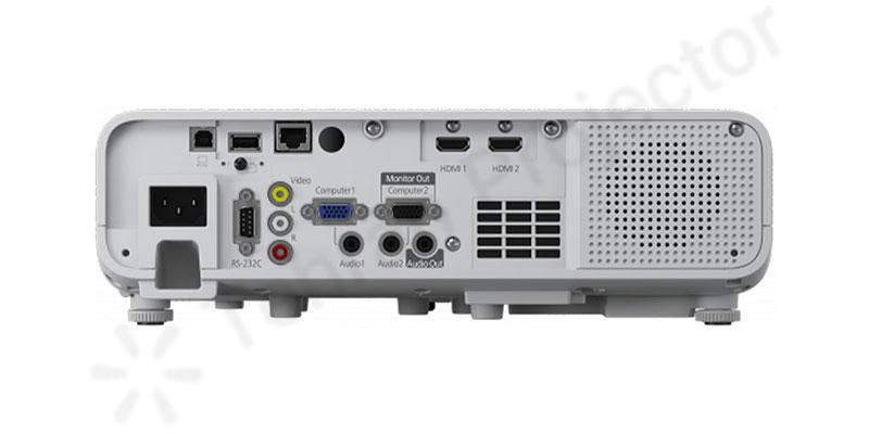 وضعیت درگاه های اتصالات در ویدئو پروژکتور Epson EB-L250f