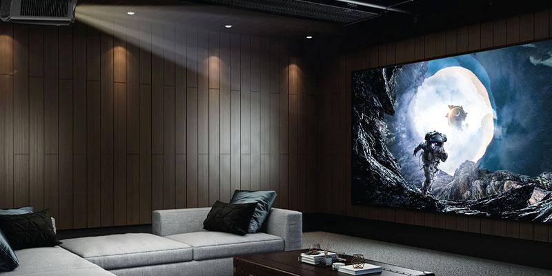 وضوح بالا با پشتیبانی سیگنال 4k در ویدئو پروژکتور Epson EB-L730U