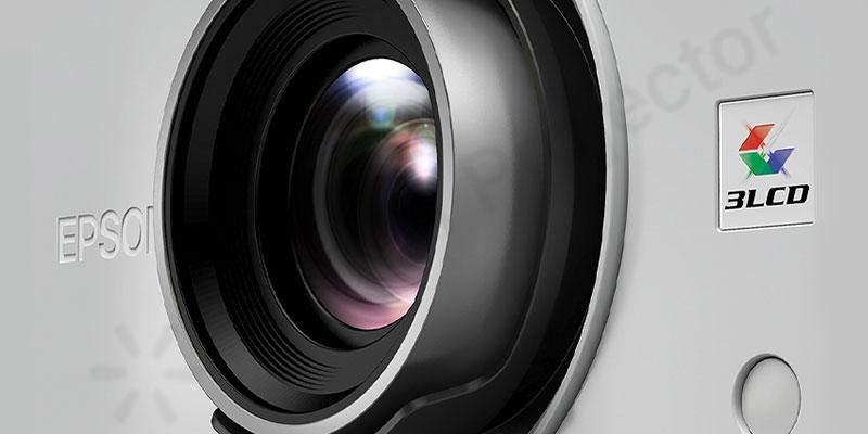 ویژگیهای ظاهری ویدئو پروژکتور Epson EH-TW7100