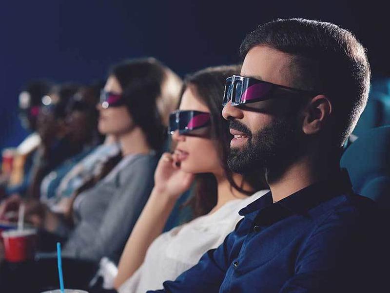 عینک سه بعدی مناسب برای تماشای تصاویر سه بعدی از ویدئو پروژکتور
