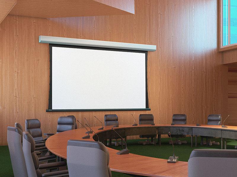 پرده نمایش پروژکتور با قاب ثابت (Fixed Frame Projector Screen)