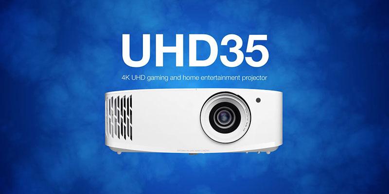 بررسی ویدئو پروژکتور اپتما UHD35