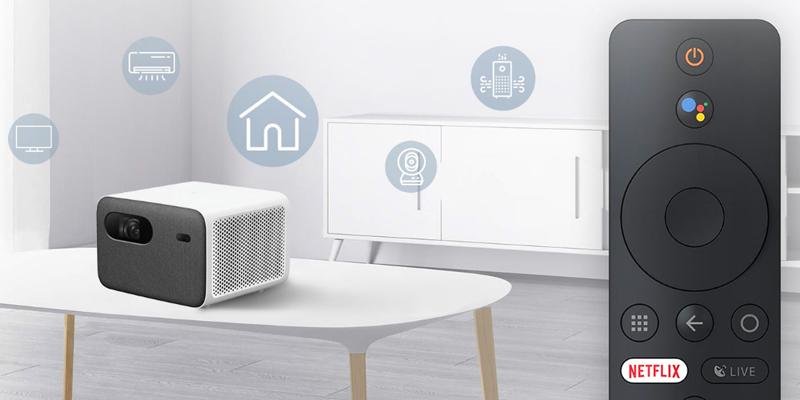 تلویزیون اندروید و دستیار گوگل با پروژکتور Mi Smart Projector 2 Pro