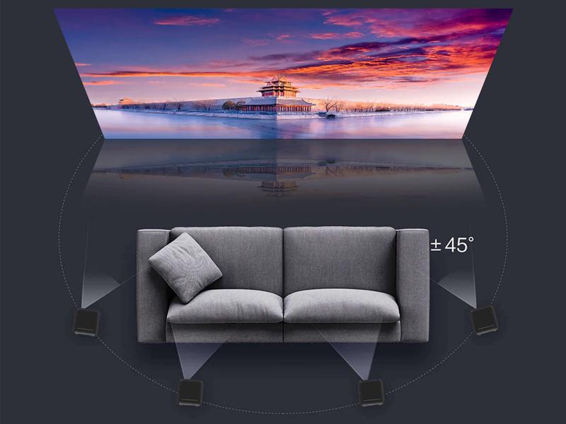 نمایش تصاویر تا 200 اینچ با ویدئو پروژکتور Xiaomi FORMOVIE DIC