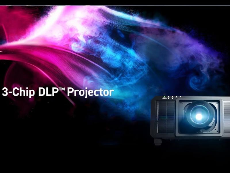 پروژکتور DLP سه تراشه
