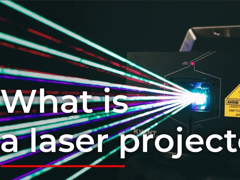 چگونگی کارکرد پروژکتور لیزری