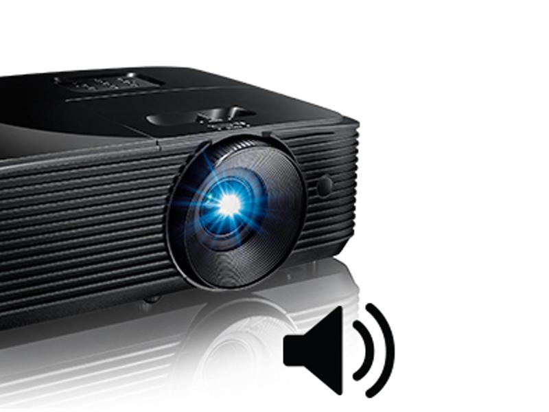 کیفیت صوتی در پروژکتور Optoma S336 چگونه است؟