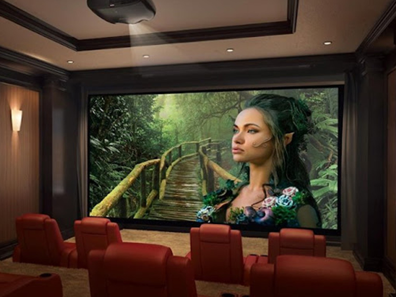 بررسی مشخصات و قابلیت Acoustic Transparency در پرده نمایش هایِ ویدئو پروژکتور